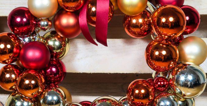 Ghirlanda di Natale home-made