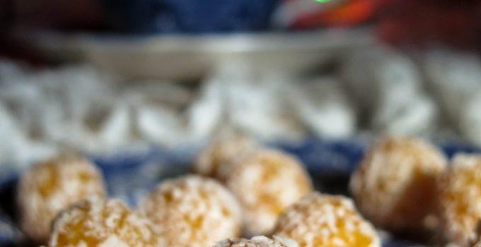 Tartufi albicocche secche e cocco